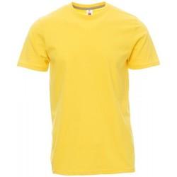 Vêtements Homme T-shirts manches courtes Payper Wear T-shirt Payper Sunset jaune