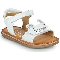 Chaussures Fille Sandales et Nu-pieds Mod'8 CLOONIE Blanc