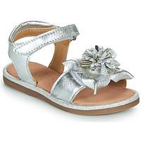 Chaussures Fille Sandales et Nu-pieds Mod'8 PAXILLA Argenté