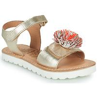 Chaussures Fille Sandales et Nu-pieds Mod'8 JELLINE Doré / Corail