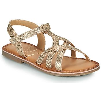 Chaussures Fille Sandales et Nu-pieds Mod'8 CANISA Doré
