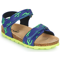 Chaussures Garçon Sandales et Nu-pieds Mod'8 KOURTIS Bleu / Vert