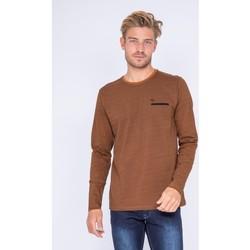 Vêtements Homme T-shirts manches longues Ritchie T-shirt manches longues col rond JOUAD Marron
