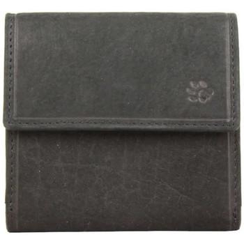 Sacs Homme Porte-monnaie Safari Porte monnaie & cartes billets cuir brut Vintage  Noir Multicolor