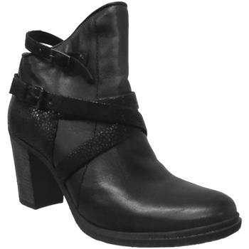 Chaussures Femme Bottines Metamorf'Ose SAFORE Noir cuir