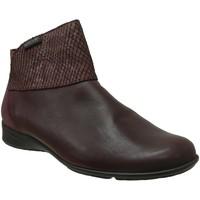 Chaussures Femme Bottines Mephisto Vincenta Bordeaux cuir