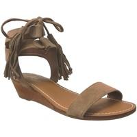 Chaussures Femme Sandales et Nu-pieds L'atelier Tropezien Sh417 Marron