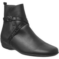 Chaussures Femme Bottines Marco Morgane Noir cuir