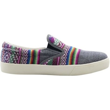 Chaussures Homme Slip ons Wayna areayagry Gris