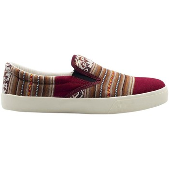 Chaussures Femme Slip ons Wayna ws-arebuhgui Rouge