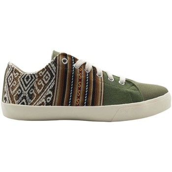 Chaussures Homme Baskets basses Wayna calbuhgre Vert