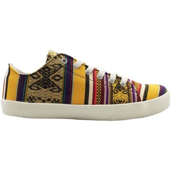 Chaussures Homme Baskets basses Wayna calsolyel jaune