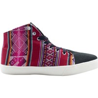 Chaussures Femme Baskets montantes Wayna ws-cimchired Multicolore