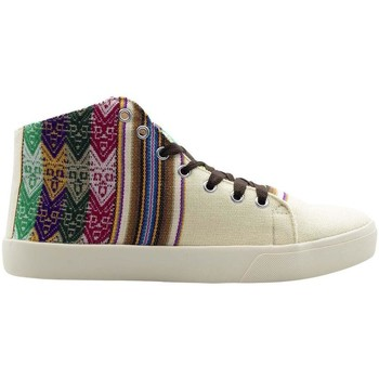 Chaussures Homme Baskets montantes Wayna cimmaccre Multicolore