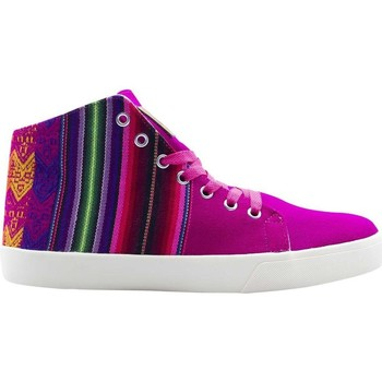 Chaussures Femme Baskets montantes Wayna ws-cimmacfuc Multicolore