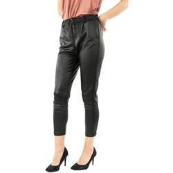 Vêtements Femme Chinos / Carrots Please p0jp 1900 nero noir