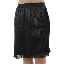 Vêtements Femme Jupes Naf Naf LAPLEATED 120 NOIR Negro