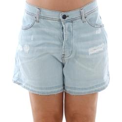 Vêtements Femme Shorts / Bermudas Sisley 4Z9R59206 SIS Azul claro