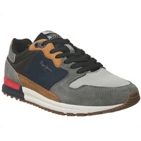 Chaussures Homme Baskets basses Pepe jeans Tinker pro rump Marine/Marron