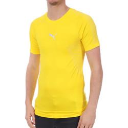 Vêtements Homme T-shirts manches courtes Puma 754189-06 Jaune