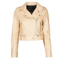 Vêtements Femme Vestes en cuir / synthétiques Oakwood YOKO Creme