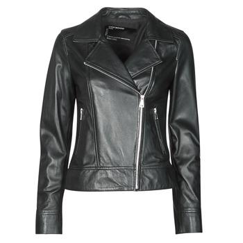 Vêtements Femme Vestes en cuir / synthétiques Oakwood MARJORY Noir