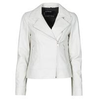 Vêtements Femme Vestes en cuir / synthétiques Oakwood MARJORY Blanc