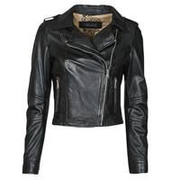 Vêtements Femme Vestes en cuir / synthétiques Oakwood ALIZEE Noir