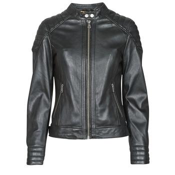 Vêtements Femme Vestes en cuir / synthétiques Oakwood ELLA Noir