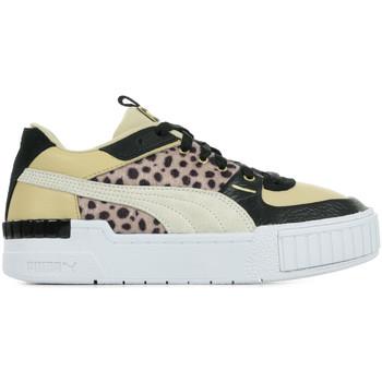 Chaussures Femme Baskets mode Puma Cali Sport W.Cats Wn's beige