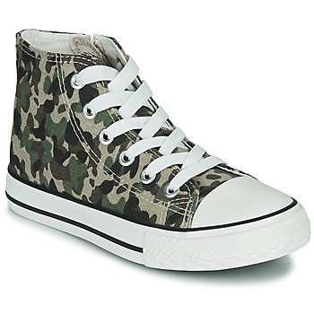 Chaussures Enfant Baskets montantes Citrouille et Compagnie OUTIL Camouflage