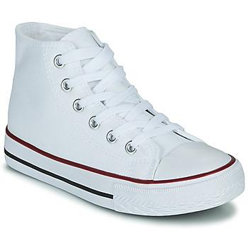 Chaussures Enfant Baskets montantes Citrouille et Compagnie OUTIL Blanc