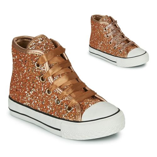 Chaussures Fille Baskets montantes Citrouille et Compagnie OUTIL Bronze