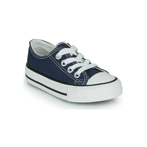 Chaussures Enfant Baskets basses Citrouille et Compagnie OTAL Marine