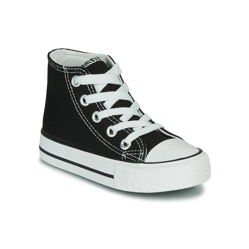 Chaussures Enfant Baskets montantes Citrouille et Compagnie OTAL Noir