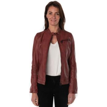 Vêtements Femme Vestes en cuir / synthétiques Rose Garden KELLY LAMB RUBY REDWINE Rouge