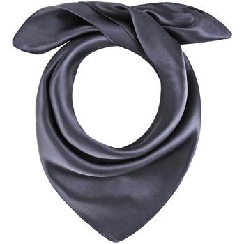Accessoires textile Femme Echarpes / Etoles / Foulards Allée Du Foulard Carré de soie Piccolo uni Gris plomb
