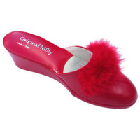 Chaussures Femme Mules Original Milly PANTOUFLE DE CHAMBRE MILLY - 300 ROUGE rouge