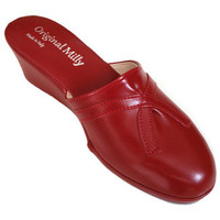 Chaussures Femme Sabots Original Milly PANTOUFLE DE CHAMBRE MILLY - 2000 ROUGE rouge