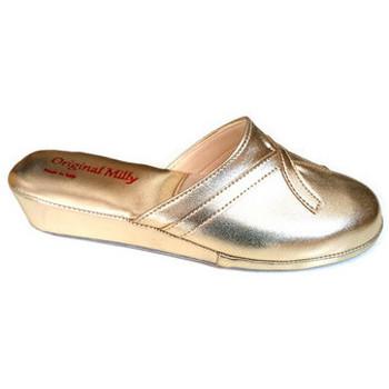 Chaussures Femme Sabots Original Milly PANTOUFLE DE CHAMBRE MILLY - 2200 OR Doré