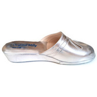 Chaussures Femme Sabots Original Milly PANTOUFLE DE CHAMBRE MILLY - 2200 ARGENT Argenté
