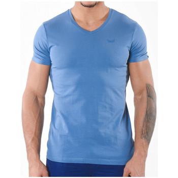 Vêtements Homme T-shirts manches courtes Kaporal Pack de 2 T-Shirts Homme Gift Jealim Bleu