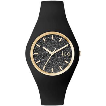 Montres & Bijoux Femme Montres Analogiques Ice Watch Montre Femme  en Silicone Noir Noir
