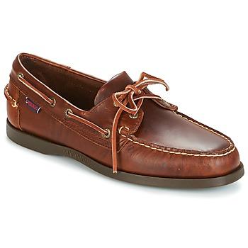 Chaussures bateau Sebago DOCKSIDES Marron 350x350
