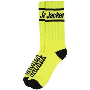 Accessoires Homme Chaussettes Jacker After logo socks Vert