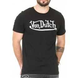 Vêtements Homme T-shirts manches courtes Von Dutch VD/TVC/RON Noir