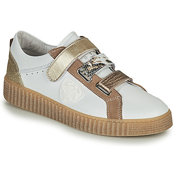 Chaussures Femme Baskets basses Philippe Morvan ZOFA V1 Blanc / Doré