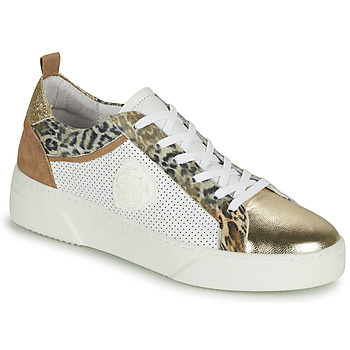 Chaussures Femme Baskets basses Philippe Morvan SOAPY V3 Blanc / Marron