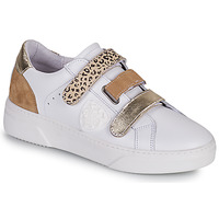 Chaussures Femme Baskets basses Philippe Morvan STEP V1 Blanc / Marron