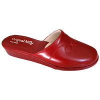 Chaussures Femme Sabots Original Milly PANTOUFLE DE CHAMBRE MILLY - 3200 ROUGE rouge